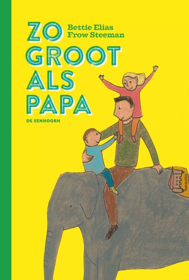 cover zo groot als papa